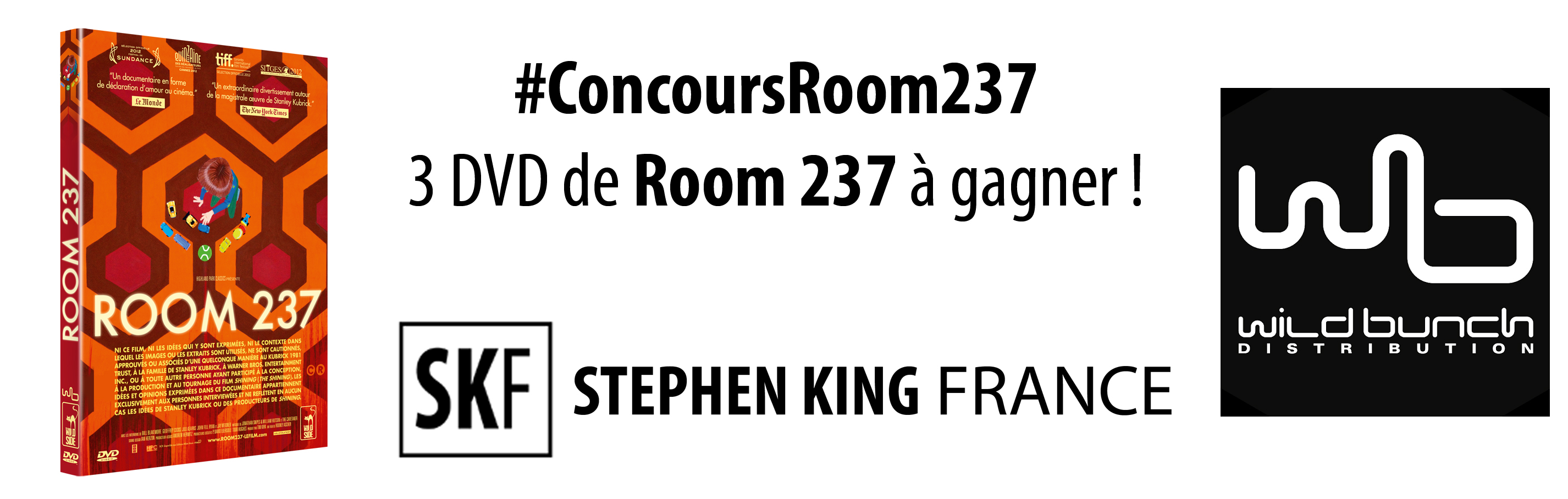 CONCOURS : ROOM 237, chez Stephen King France ConcoursRoom237