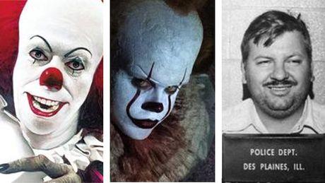 stephen king clown pennywise grippesou john wayne gacy