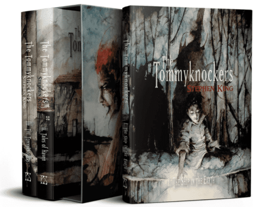 The Tommyknockers - PS Publishing - Coffret