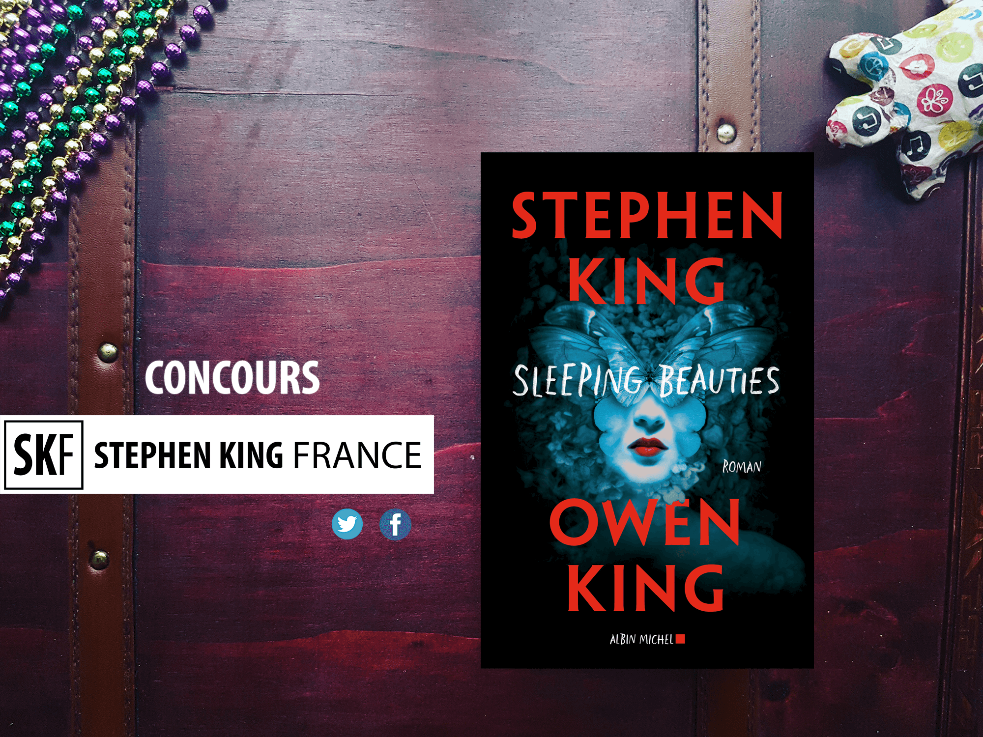 Concours sleeping beauties albin michel stephen king