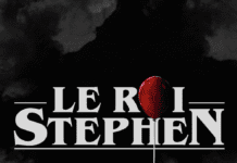 Logo noir podcast le roi stephen