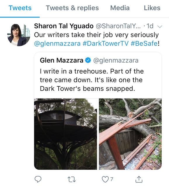 la tour sombre serie tweet