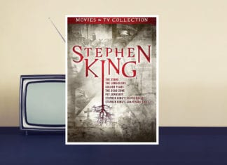 stephen king box set adaptation movies tv collection dvd banner