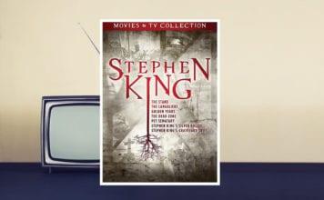 stephen king box set adaptation movies tv collection dvd banner