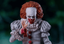 iron studios figurine grippesou pennywise