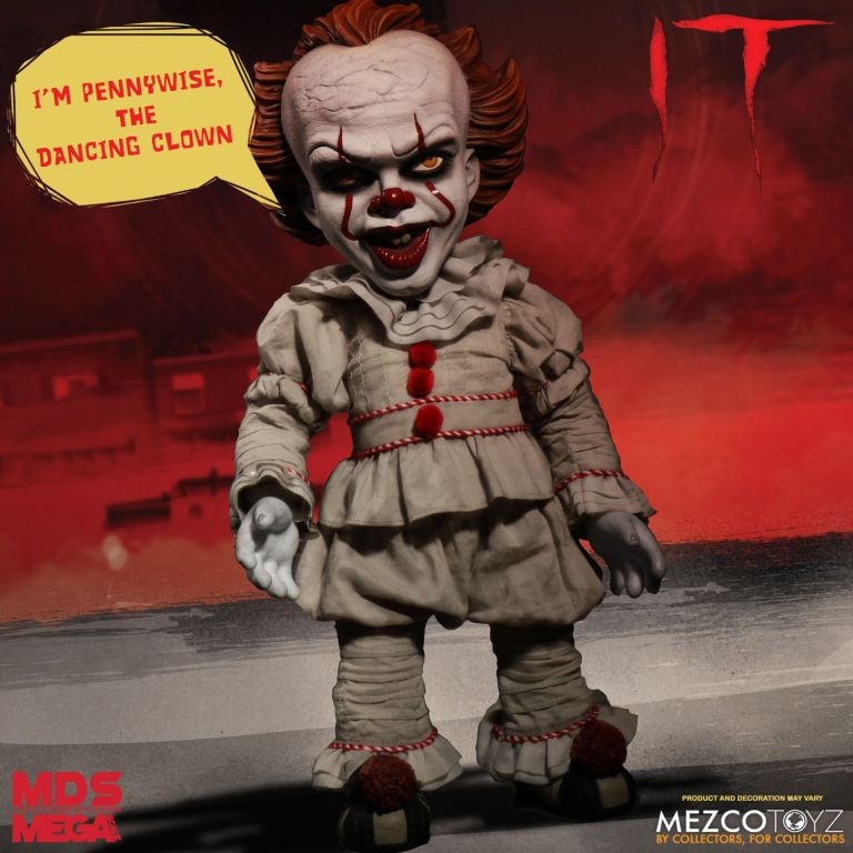 pennywise grippe sou parlant mezco