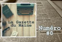 Gazette du Maine numero 0