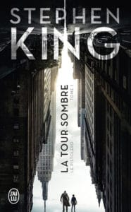 couverture j'ai lu la tour sombre stephen king