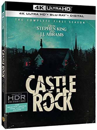 castle rock saison 1 dvd blu ray