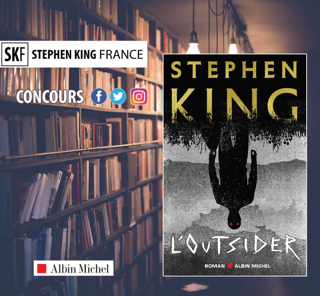 concours l'outsider stephen king albin michel