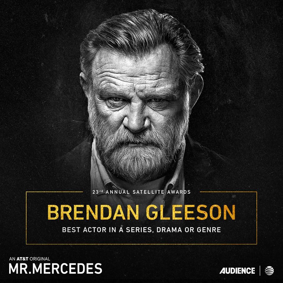 brendan gleeson mr mercedes nomme satellite awards