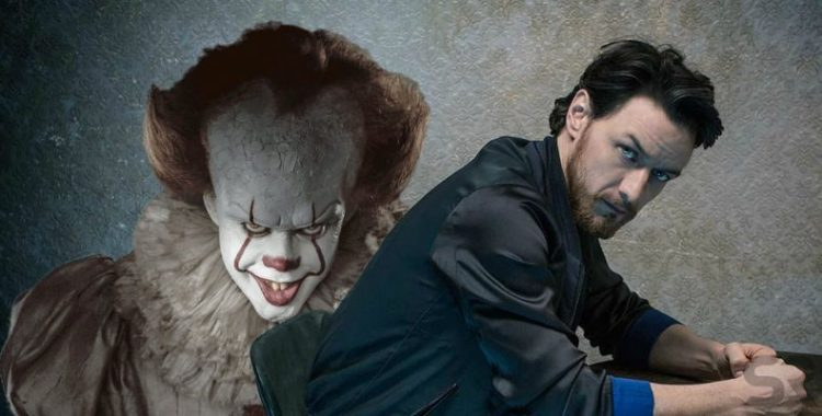 james mc avoy grippe sou pennywise ca it 2