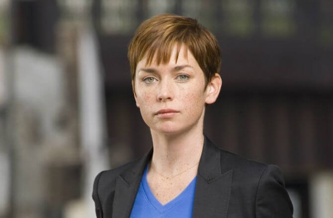 outsider serie hbo Julianne Nicholson Marcy Maitland