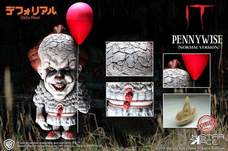 star ace grippe sou 2017 figurine pennywise