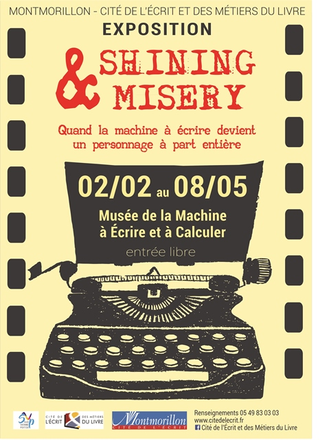 exposition shining misery machine ecrire montmorillon