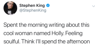 stephen king twitter holly gibney