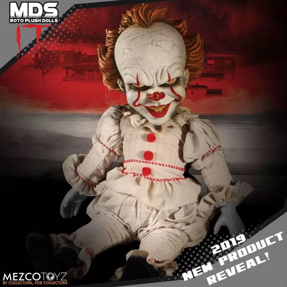 mezco poupée pennywise grippe sou toy fair 2019