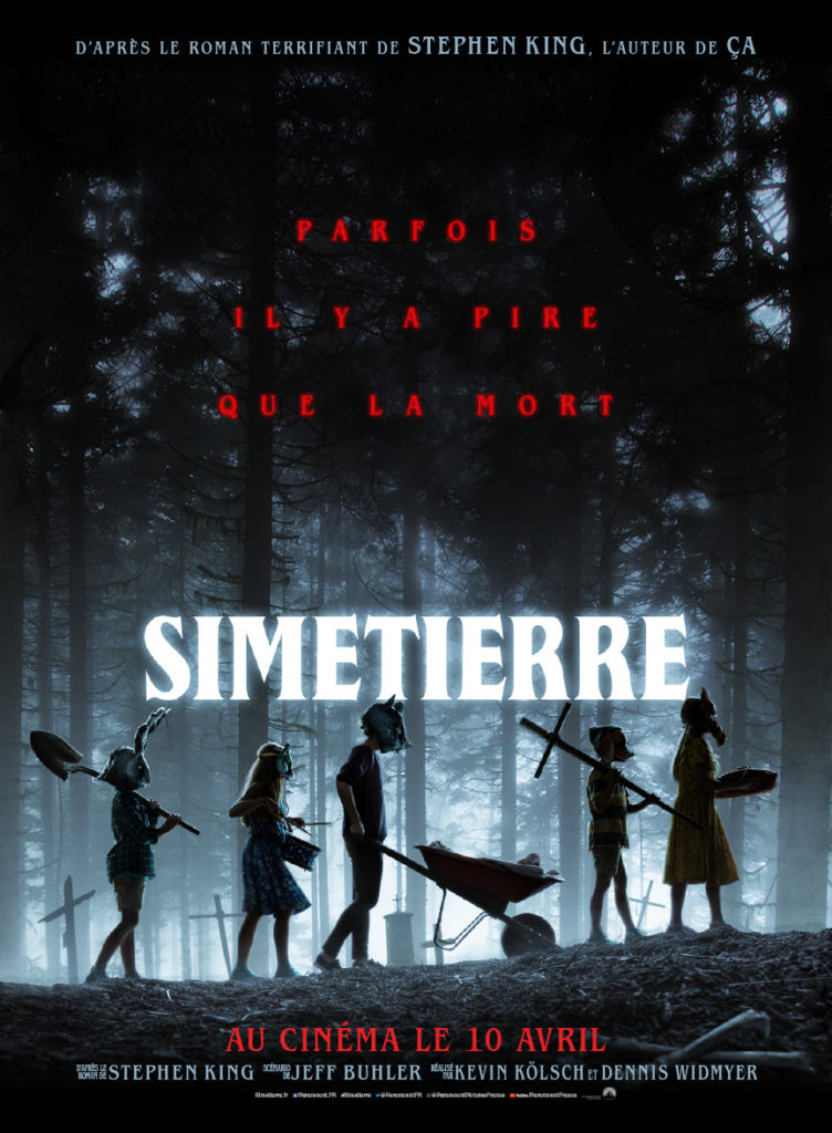 simetierre pet sematary affiche poster fr francaise