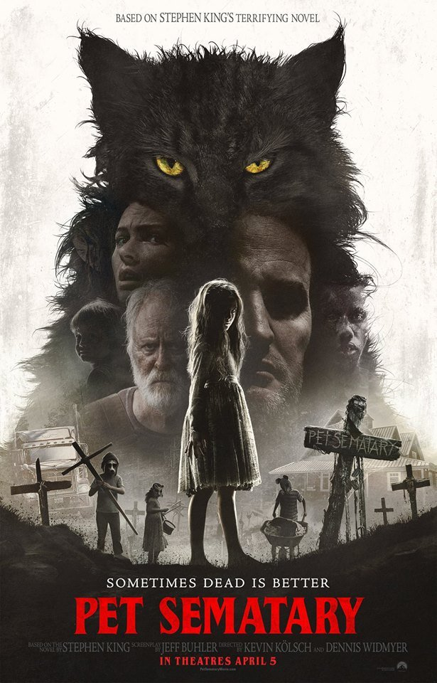 simetierre pet sematary affiche poster us americain