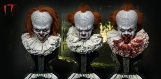 buste grippe-sou pennywise ca it prime 1 studio 01
