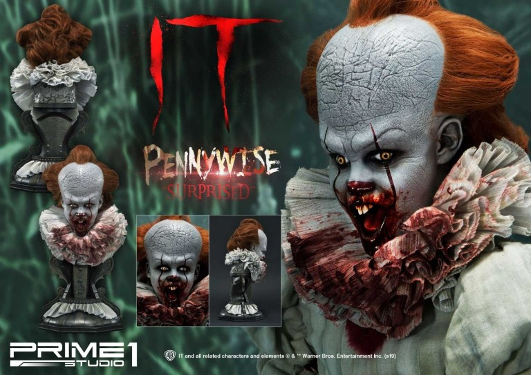 buste grippe-sou pennywise ca it prime 1 studio 02