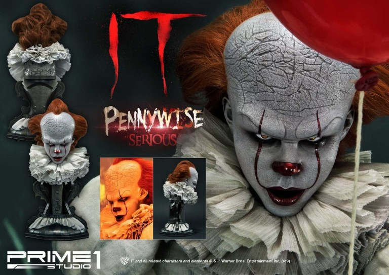 buste grippe-sou pennywise ca it prime 1 studio 03