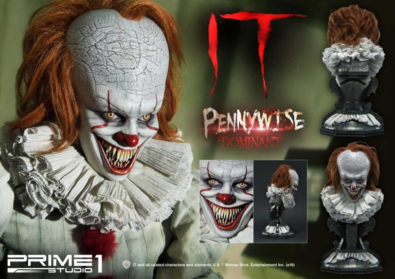 buste grippe-sou pennywise ca it prime 1 studio 04