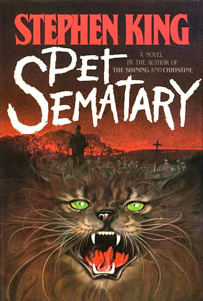 Pet Sematary Simetierre couverture