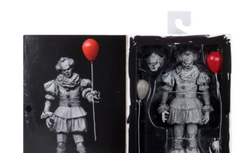 neca grippe-sou noir et blanc san diego comic con figurine