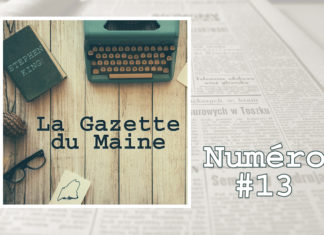 gazette du maine podcast actualité stephen king 13
