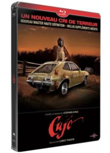 """[FR] Le film """"Cujo"""" remasterisé dans un boîtier Steelbook"""