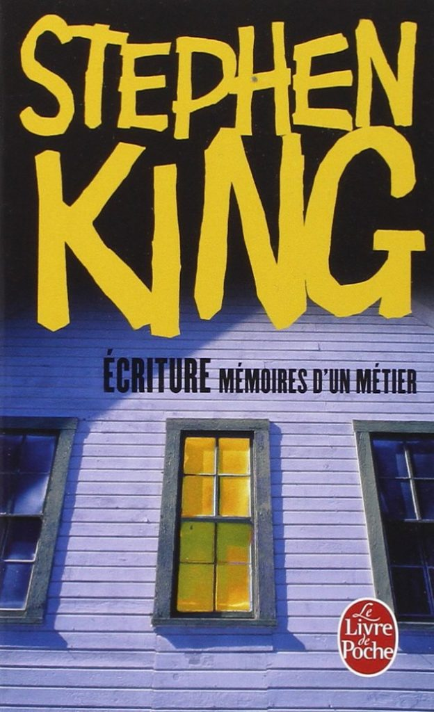 ecriture memoire metier poche stephen king couverture
