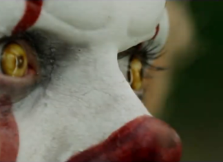 grippe sou pennywise yeux eyes