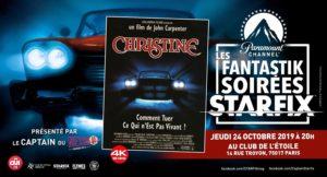 """[FR] Projection de """"Christine"""" en 4K à la Fantastik Soirée Starfix @ Club de l'Etoile"""