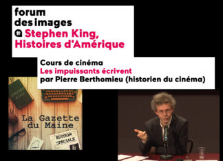 cours de cinema stephen king pierre berthomieu