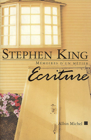 ecriture memoire metier albin michel stephen king couverture