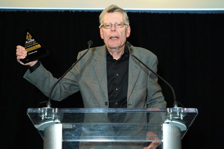 stephen king audie award
